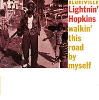 Lightnin' Hopkins - Walkin' This Road By Myself LP REISSUE NEW BLUESVILLE