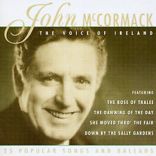 The Voice of Ireland: 25 Popular Songs and Ballads by John McCormack (Tenor..NEW