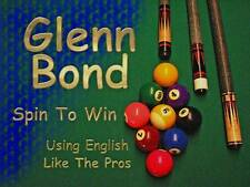 Pool Billiards Video  Spin To Win  Using English Like The Pros  DVD