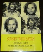 1 of only 69, THE STRANGE CASE OF CHARLIE MANSON & THE BEACH BOYS, 60's HISTORY