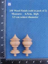 COPPIA di orologio/mobili ornamenti stile 25 F