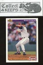 1992 Upper Deck Diamond Skills #641 Roger Clemens (Boston Red Sox)