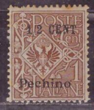 1918-19 Italian colony P.O. in China stamps, Pechino Peking, 1/2c on 1c MH SG 19