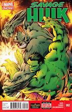 Savage Hulk #2 Unread New Near Mint Marvel 2014 Digital Code Included **16