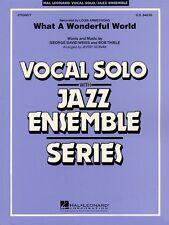 What a Wonderful World Key: Eb Vocal Solo Jazz Ensemble Series NEW 007500077