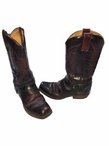 Sendra Western Boots UK 10 EU 44.5 Leather Brown