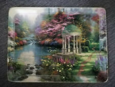 Thomas Kinkade's The Garden of Prayer 1st issue Ceramic Plate Limited Edition
