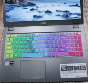 15.6 inch Silicone Keyboard Cover Protector For Acer Aspire E15 E 15 E5-576 E557