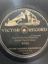 "78rpm [1905] Arthur Pryor's Band ""CUPID'S GARDEN"" Victor 4140 VG 78s"