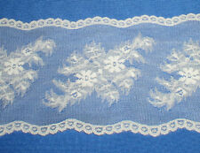 """Ivory Vintage Lace Trim 5 Yards x 5"""" CLOSEOUT RM112V Buy any 3 Trims Get 1-Free"""