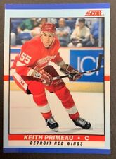 1990-91 Score Young Superstars - #38 Keith Primeau - Detroit Red Wings