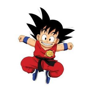Goku Dragon Ball Car Air Freshener Mild Scent Strength