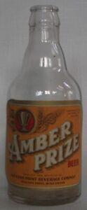 Stevens Point Brewery, Stevens Point, Wisconsin Amber Prize steinie bottle