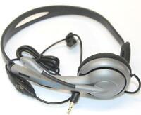 Dynex DX-HP01 Adjustable Boom Microphone Headphone Mono Sound Single Ear Headset
