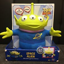 Disney Pixar Toy Story 4 Talking Space Alien Talks and Antenna Lights-Up New