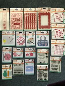CRAFTY FUN SIGNATURE COLLECTION CRAFTERS COMPANION DIES STAMPS EMBOSSING FOLDERS