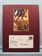 Honoring Vietnam War Veterans & First Day Cover of the Vietnam War stamp