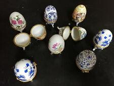 9 Eierbecher mit kippbaren Deckel Osterdeko Dekoration Ostern