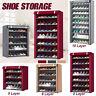 5/6/8/10 Tiers Dustproof Shoe Storage Rack Organizer Cabinet 15/18/24/30  New