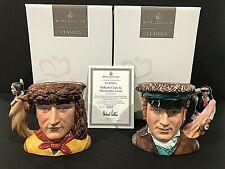Royal Doulton 'Lewis & Clark' D7234/D7235 2004 Medium Character Jugs - #557/1000