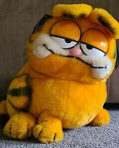 Vintage Garfield Plush Sitting Fat Cat Daiken 1981 retro stuffed toy Collectable