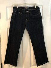 """Women's Lucky Brand Sweet N'  Crop Jeans 4/27 Preowned Measures 30"""""""