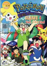 POKEMON JOHTO LEAGUE CHAMPIONS (SEASON 4) - COMPLETE TV SERIES BOX SET (ENG DUB)