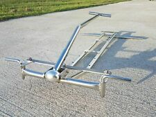 Stainless Steel Chassis for Radio Flyer Wagon Chassis Pull Rod Quick Release