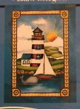 Lighthouse Harbor Boat Ocean Beach Lake Sun Whale Mini Window Garden Yard Flag N