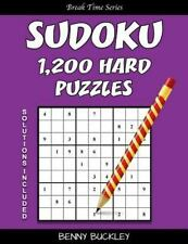 Break Time: Sudoku 1,200 Hard Puzzles. Solutions Included : A Break Time...