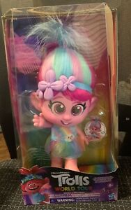 Trolls Dreamworks Poppy Doll Giggle and Sing COLLECTORS DISCONTINUED NEW IN BOX