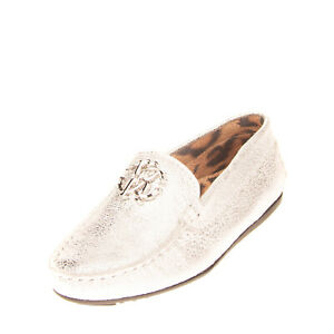 RRP €170 ROBERTO CAVALLI Leather Loafer Shoes EU 27 UK 9.5 US 10.5 Made in Italy