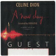 CELINE DION  2003-2005 A New Day Concert Tour Backstage Pass!! Authentic OTTO #2