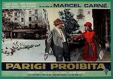 T63 FOTOBUSTA  PARIGI PROIBITA MARCEL CARNE' DANY SAVAL PAUL MAURISSE DELAIR 8