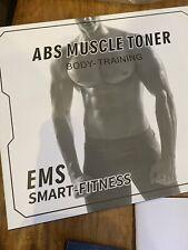 6 Pack EMS Trainer Abdominal Toning Muscle Toner Abs Smart EMS Fitness Belt