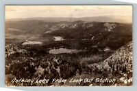 RPPC Anthony Lake OR, Lookout Station, Oregon Real Photo Postcard