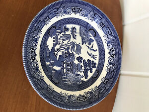 CHURCHILL Blue Willow China Made in England Soup or salad Bowl