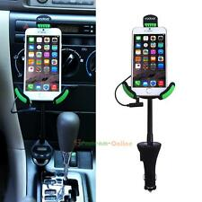 Universal Car Phone Holder With USB Car Charger and FM transmitter For iPhone
