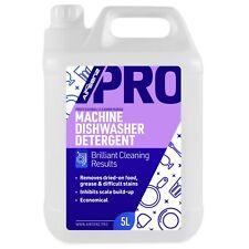 Professional Machine Dishwasher Detergent Commercial Kitchen Hotels Restaurants