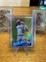 Bo Bichette 2020 Topps Chrome 1985 35th Anniversary Rookie Card 85TC-2 Jays RC
