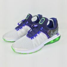 Nike Shox Gravity Womens White Purple Green Sneaker Shoes Sz 8 AQ8554-105