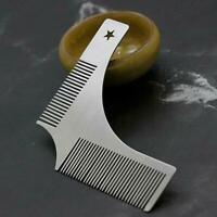Beard Styling Comb Groomarang Shaping Template Tool And Moustache Face Neck