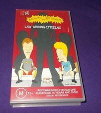 BEAVIS AND BUTT-HEAD LAW-ABIDING CITIZENS VHS PAL 8 EPISODES
