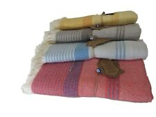 Luxury Beach Turkish Peshtemal Towel 100% Cotton for Beach Bath Spa Yoga