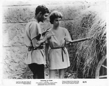 "Louis Jourdan, Sylvia Syms ""Amazons of Rome"" vintage movie still"