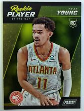 2018-19 Panini Rookie Player of the Day Trae Young RC #RC5, Atlanta Hawks