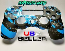 Blue Marble Splash Front Shell For PS4 Pro/Slim Controller JDM-040