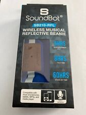 NEW SoundBot Wireless Musical Reflective Beanie Hands-Free Bluetooth Headset