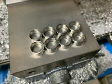 Type r caliper  & mini cooper brake rotor lug centric spacers washer / shim kit