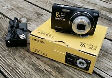 Fujifilm FinePix J-Series JZ100 Digital Camera in Black